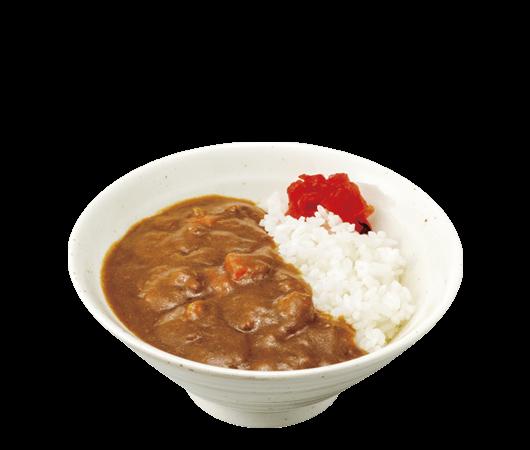山田うどんのミニカレー丼