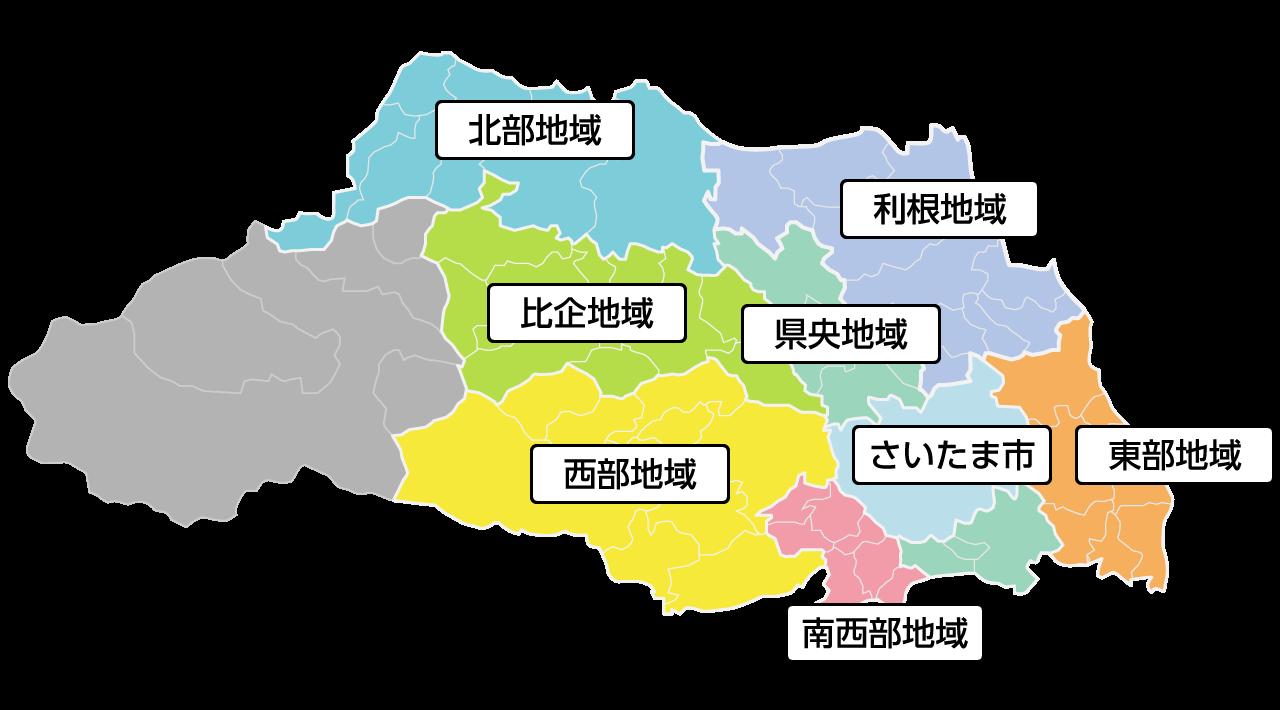 埼玉県エリアMAP