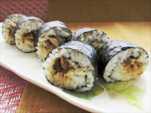 さんまのそぼろ寿司