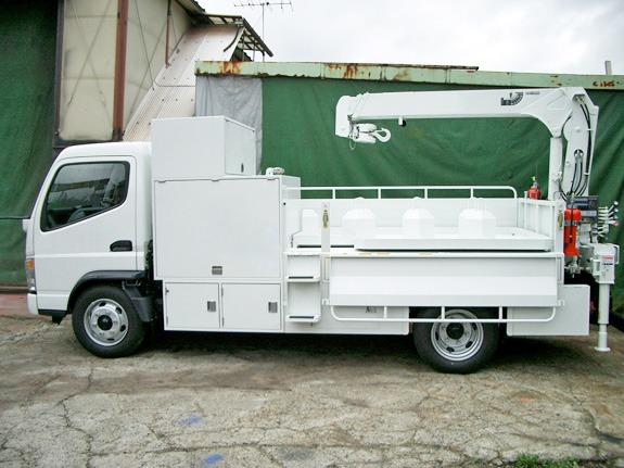 オイル交換メンテナンスカー