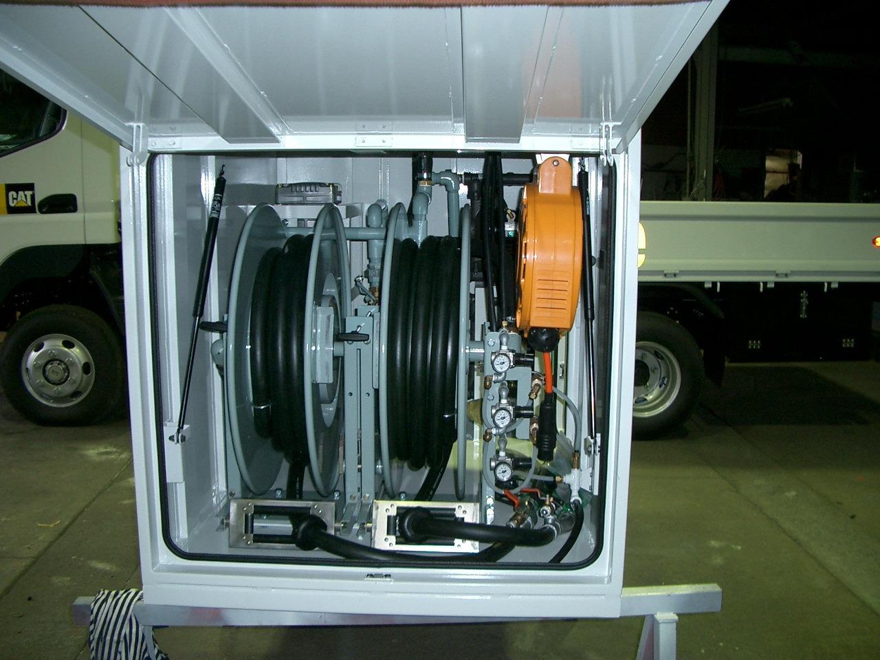 エアーリールユニット 油圧駆動コンプレッサー