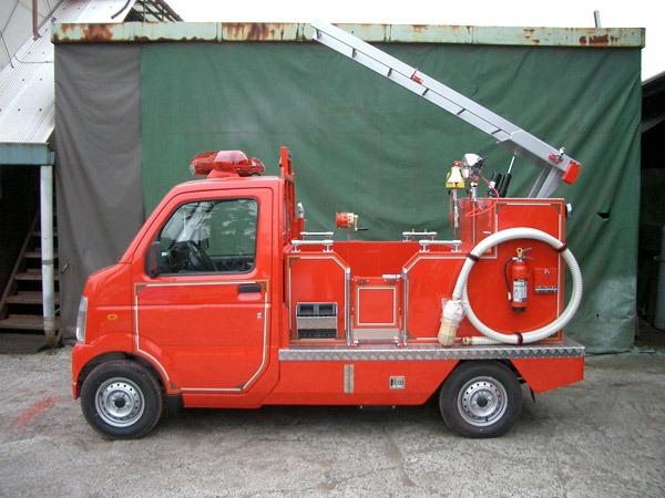 子供向け防災啓発用消防車