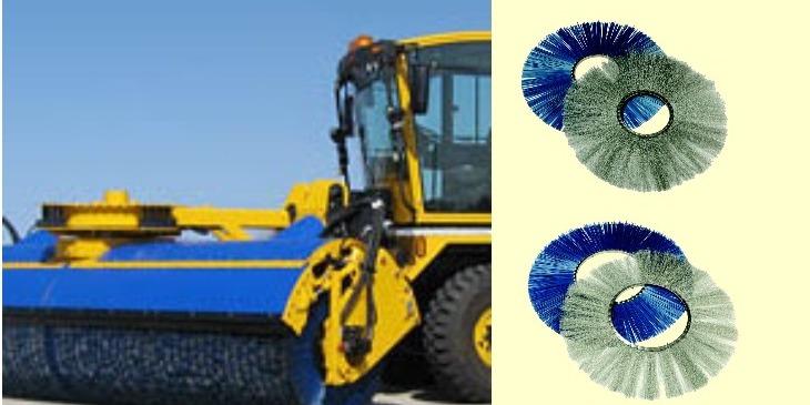 米国ユナイテッド・ロータリー・ブラシ社/スウェーデン ノールズ・ブラシ社製品を輸入・販売。
