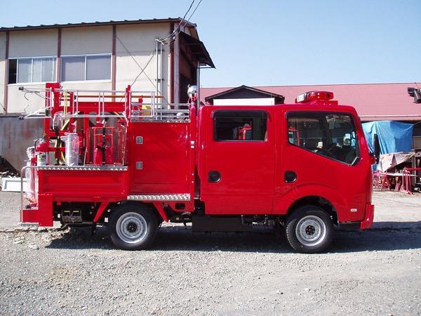 小型動力ポンプ普通積載車